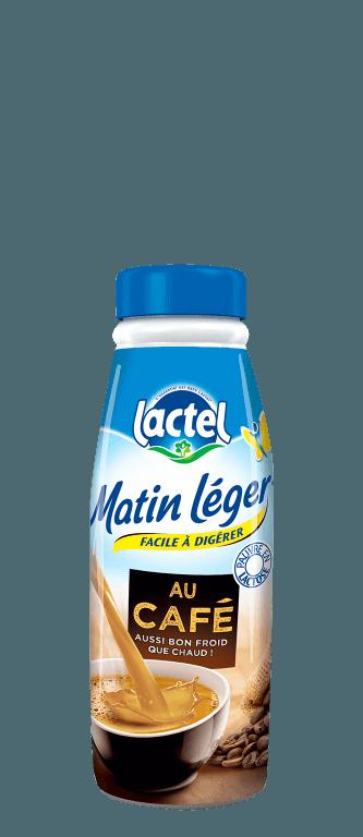 Lactel Matin Léger Café