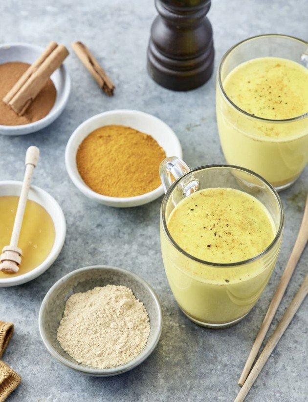 Golden Latte – Lait d'or au curcuma