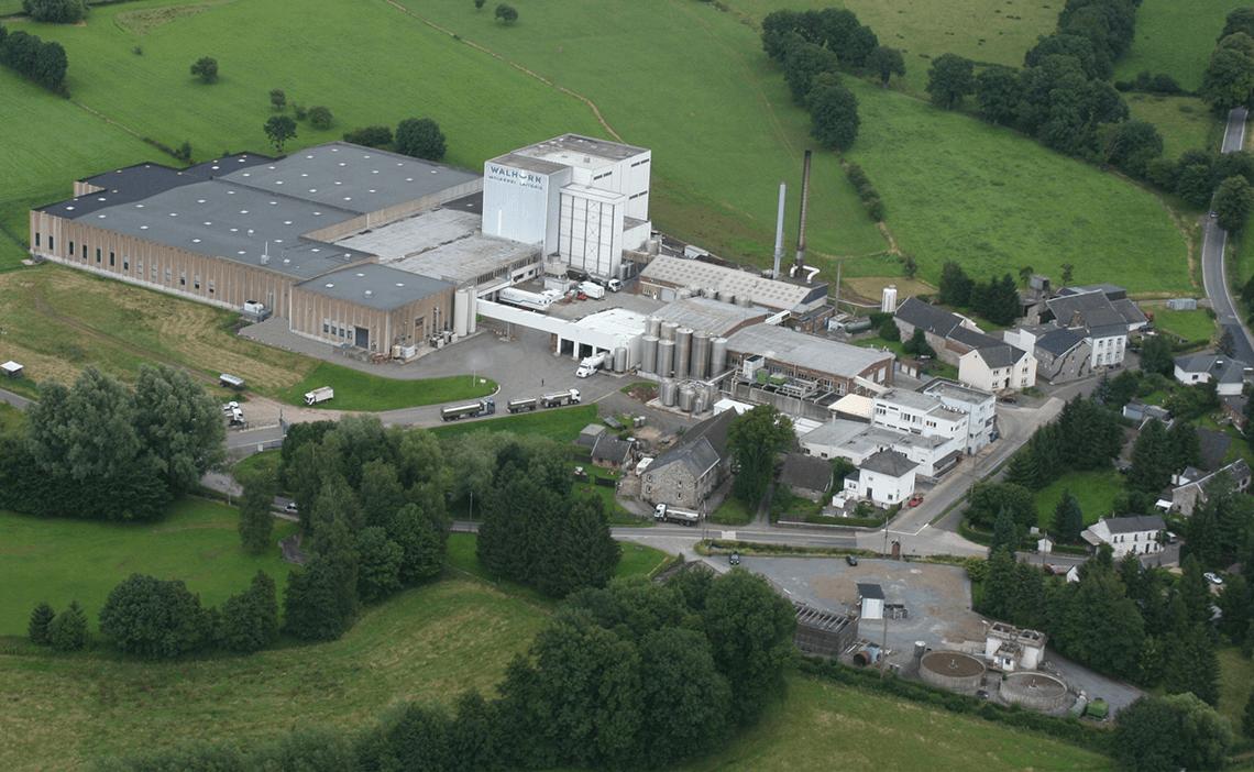 Melkfabriek: ecologische voetafdruk verminderd met 10 %